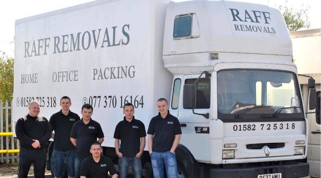 raff removals luton